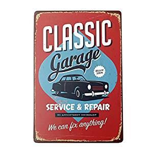 Buy Vintage Pub Bar Garage Fight War Sexy Girl Metal Sign Tin Plaque