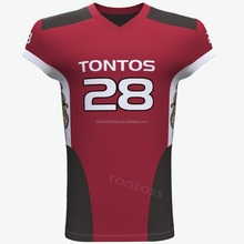 Sublimation American Football Training Jersey Wear