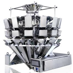 China factory price 0.5L 14 heads stick shaped product combination weigher for pork sausage with CE and high accuracy