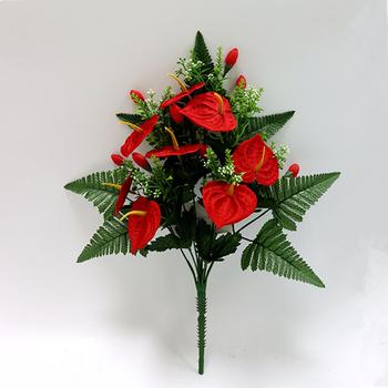 Букеты из красного антуриума, цветок черная орхидея киев купить