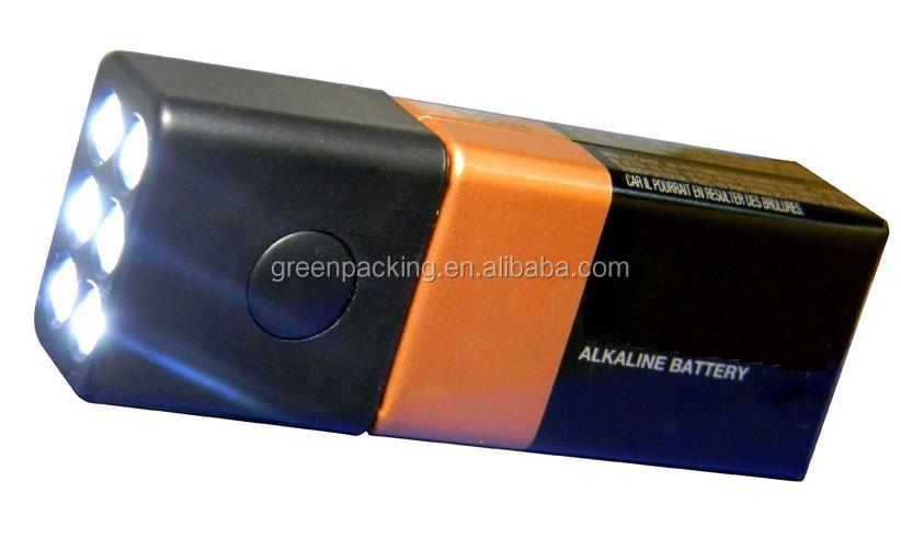 9v Led Block Light Flashlights Tactical Torch Light China Supplier ...