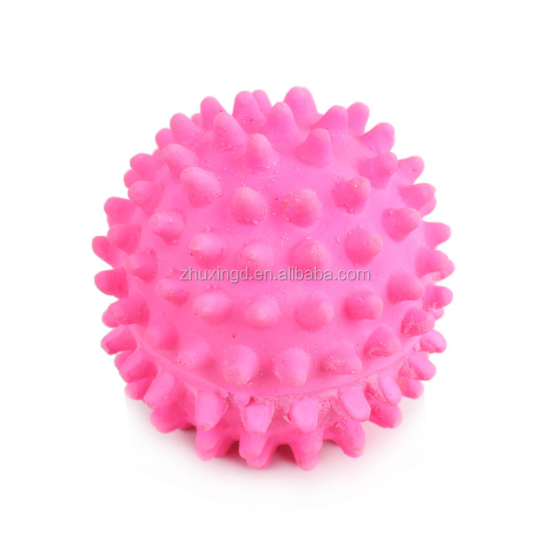 Soft rubber dog toy, popular dog toy ball, pet interactive dog toy