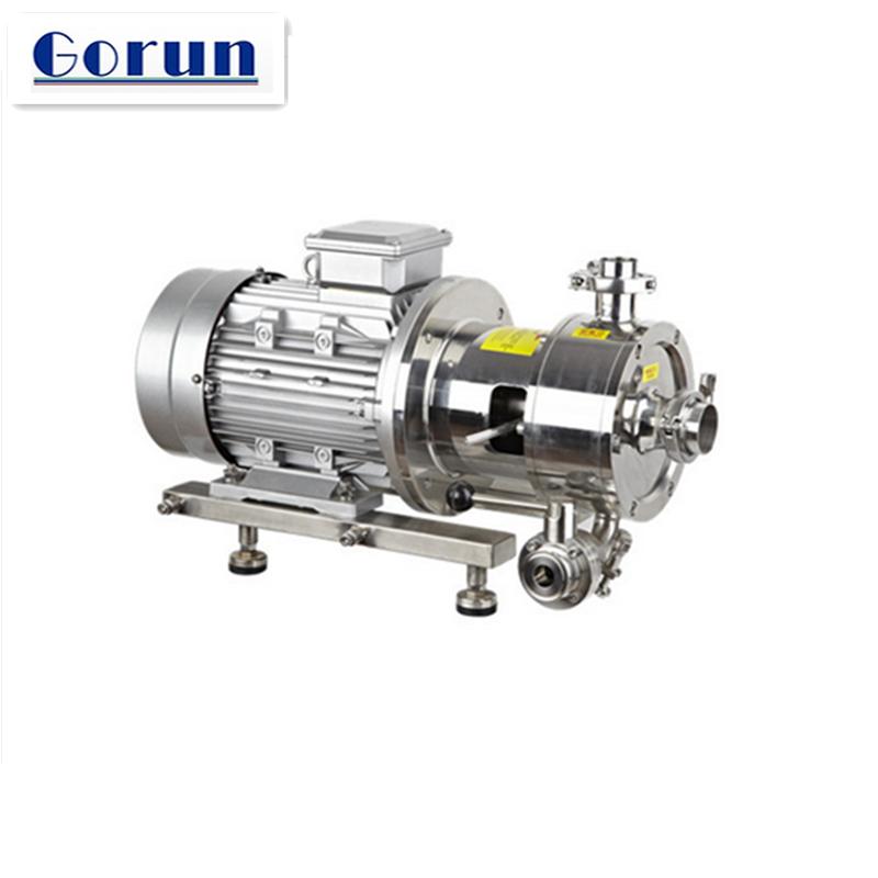 Three Stage Inline High Shear Emulsifier/mixer/homogenizer/pump For Food  Grade