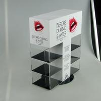 Acrylic Make up box acrylic riser display fixtures