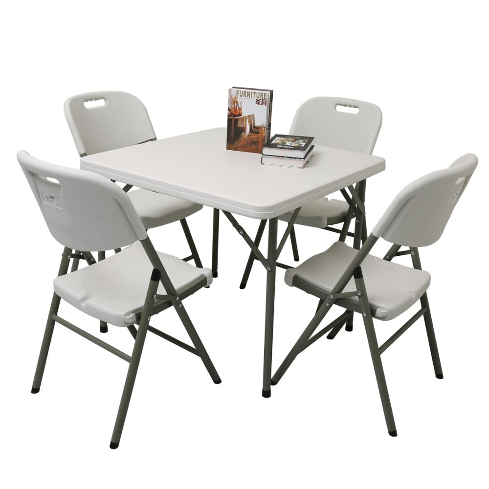 - Sale Cheap Patio Plastic Folding Tables And 4 Chairs - Buy Patio