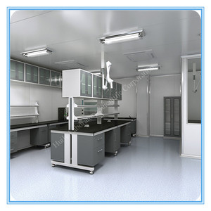 best China lab suppliers All steel structure physics laboratory table