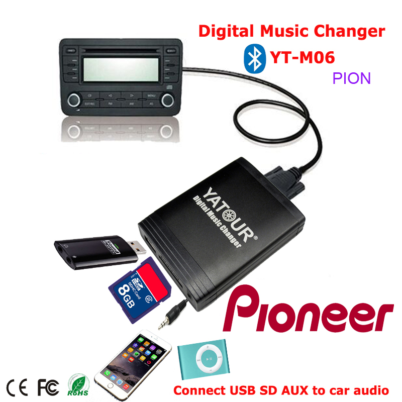 yatour digital music changer usb sd mp3 bluetooth. Black Bedroom Furniture Sets. Home Design Ideas