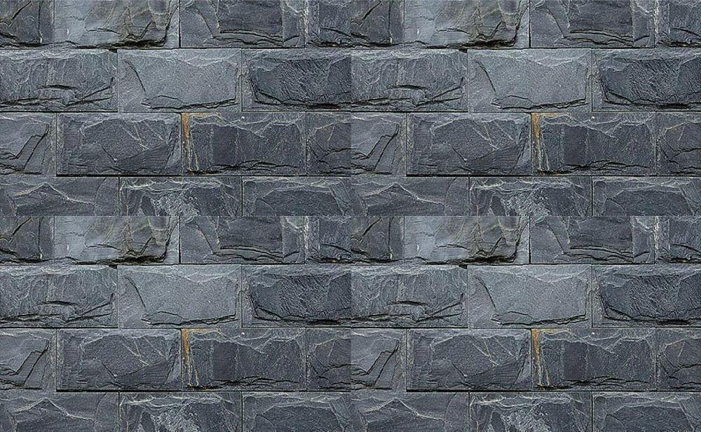 Stenen Muur Tuin : Decoratie muur steen art muur tuin muur zwarte steen platen