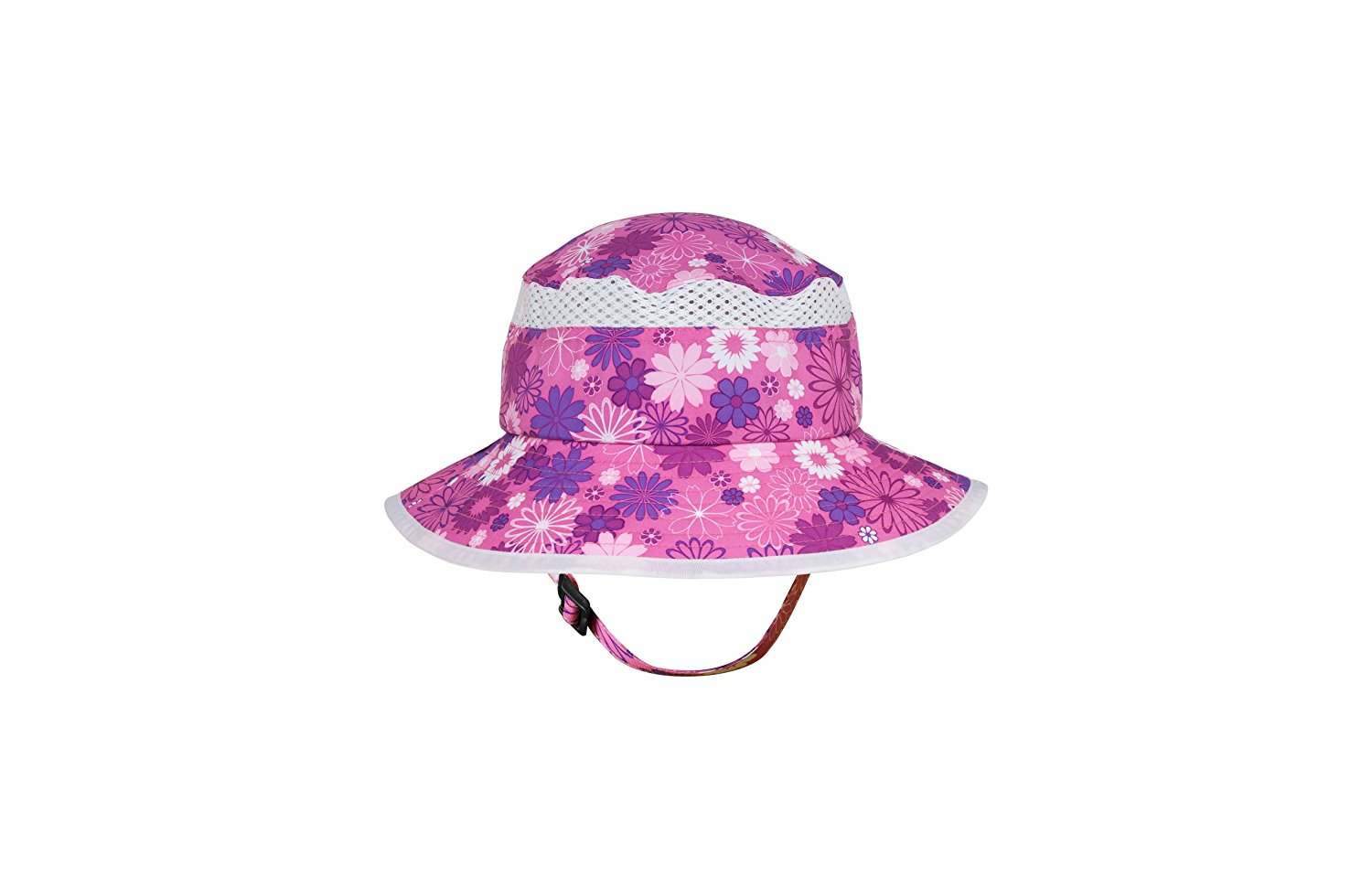 b5a14f5c2a8 Get Quotations · Sunday Afternoons Kid s Chin Strap Fun Bucket Sun Hat  (Pink Daisy