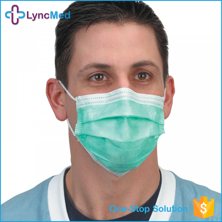 3 layers surgical disposable facemask, medical face mask