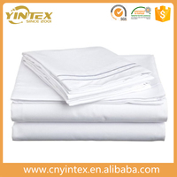 eWTP-Amazon Four Points hotel Cotton Satin Bed Sheet Fitted Sheet Flat Sheet with PVC bag