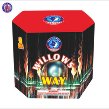 China wholesale SP2110 Willows Way 10 shots outdoor cake fireworks