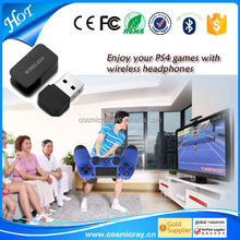 Newest electronics bluetooth adapter tv, PS4 Bluetooth dongle adapter