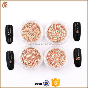 Fashion Charm Mini Diy Nail Art Caviar Beads Decoration Buy Mini