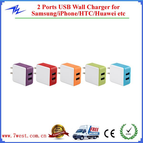 5V 3.1A Dual Port USB Wall Charger,Micro USB Wall Charger for iPhone