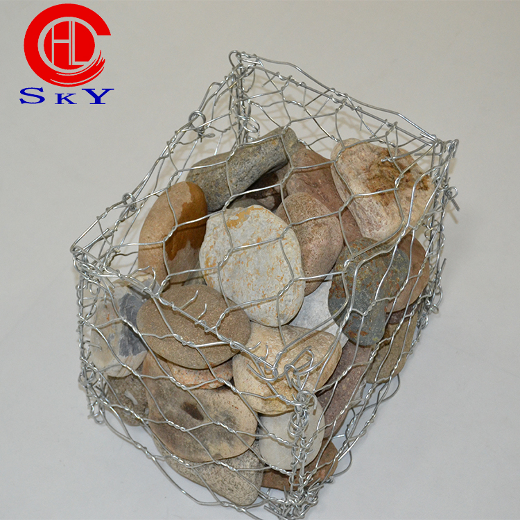 China Manufacturer ISO Cheap Price Galvanized Gabion Box Wire Mesh gabions