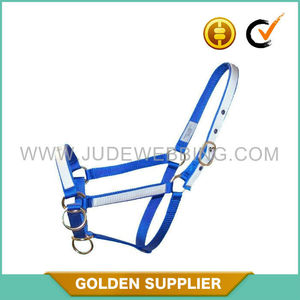 custom horse equipment padded horse halter