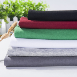 100% Pima Cotton Single Jersey Knitted Fabric stock for Clothing