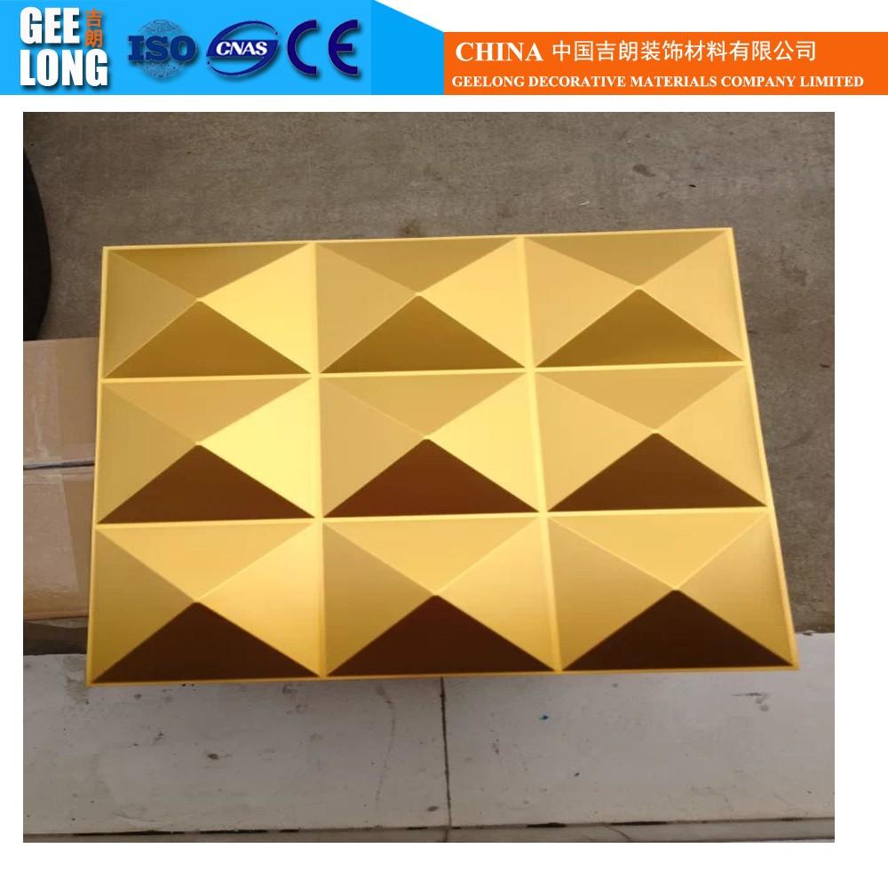Interior revestimento de parede material de pvc china for Placas para pared