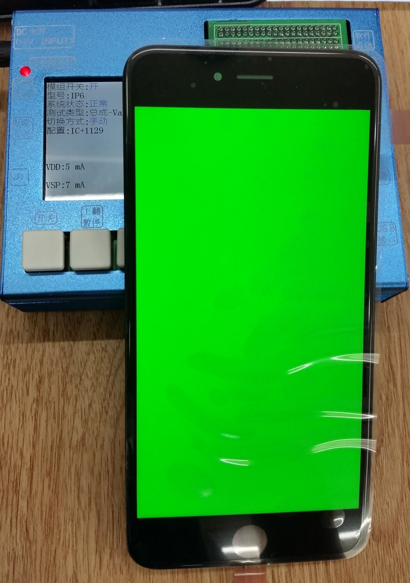 New 7 in1 LCD Touch Screen Digitizer Testing Tester for iphone 4 4S 5 5S 5C 6 6 plus full set with manual and video