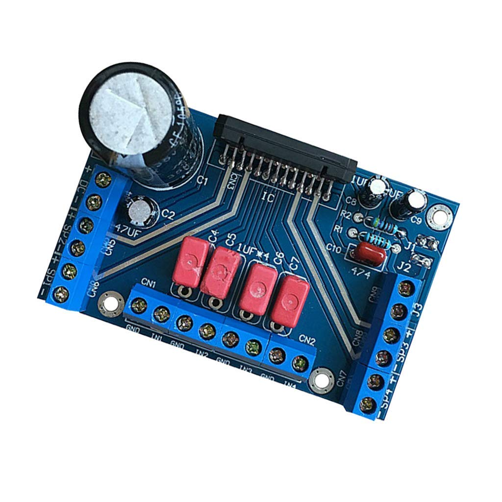 Cheap Tda Car Find Deals On Line At Alibabacom Audio Amplifier Circuit Using Tda1562q Get Quotations Magideal Dc 12v Tda7388 Four Channel 4x41w Power Board Btl Pc Amp