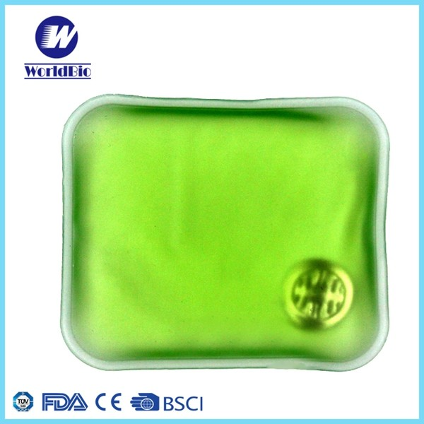 square hand warmer for therapy reusable heating packs