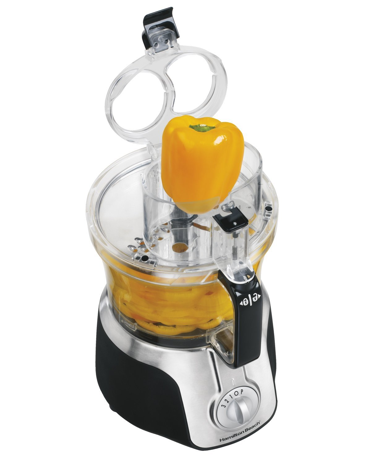 Hamilton Beach 14-Cup Food Processor, with Big Mouth Feed Tube & French Fry Blade (70575)