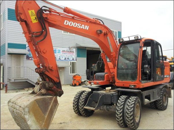 Năm 2009 Doosan Dx140w - Buy Daewoo Sử Dụng Máy Xúc Product on Alibaba.com