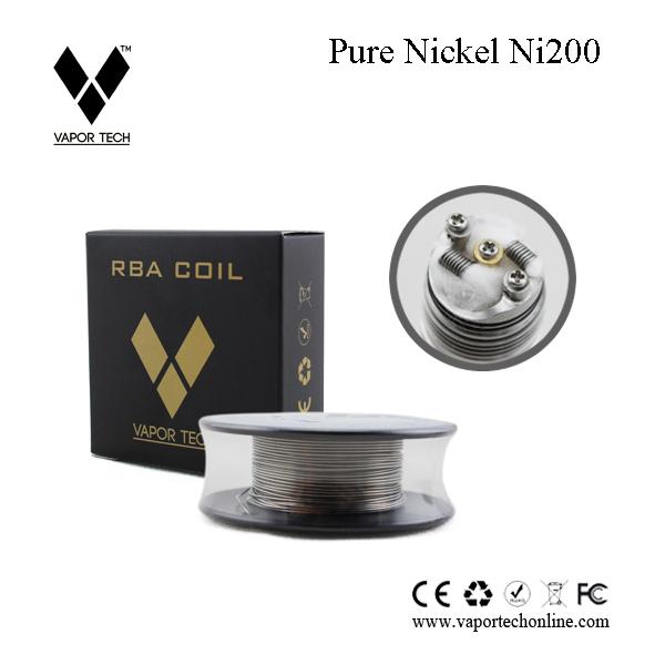 Best Nickel Wire For Vape Vapor Tech Pure Nickel Ni 200 Wire ...