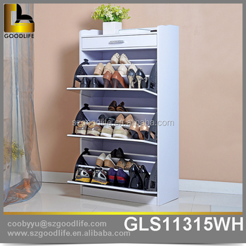 Delicieux Mirrored Furniture Luxury Shoe Cabinet With Storage Drawers