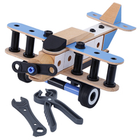 Wooden Airplane Model toys wooden toy airplane building set wooden airplane building blocks toys