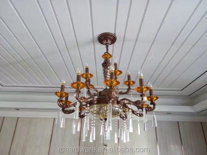 Proveedor chino moderno diseño stained glass lámpara colgante ...