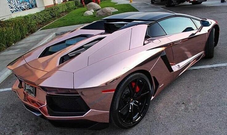 Chrome Car Wrap >> Stretch Chrome Wrap Film For Car Body Car Wrap Film Rose Gold Car