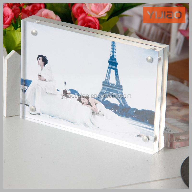Wholesale Acrylic Fridge Magnet Photo Frame