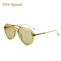 Online sale Italy design high quality oversized OEM acetate women sunglasses