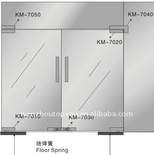 Haute Qualité Sus Verre Pivot Porte Avec Brossé Buy Product On - Porte vitrée sur pivot
