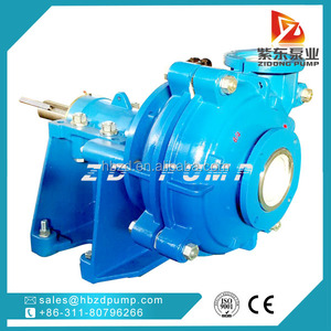 big ash gravel horizontal mud sewage slurry pump