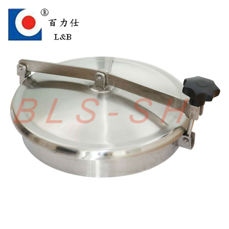 stainless steel quick open tank manhole