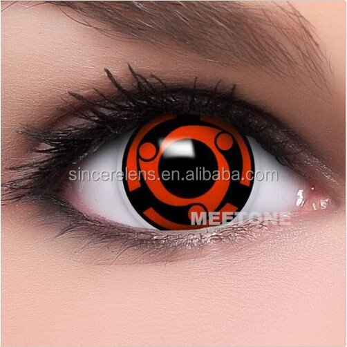 Korea wholesale cheap cosmetic colored lenses cases free halloween contacts