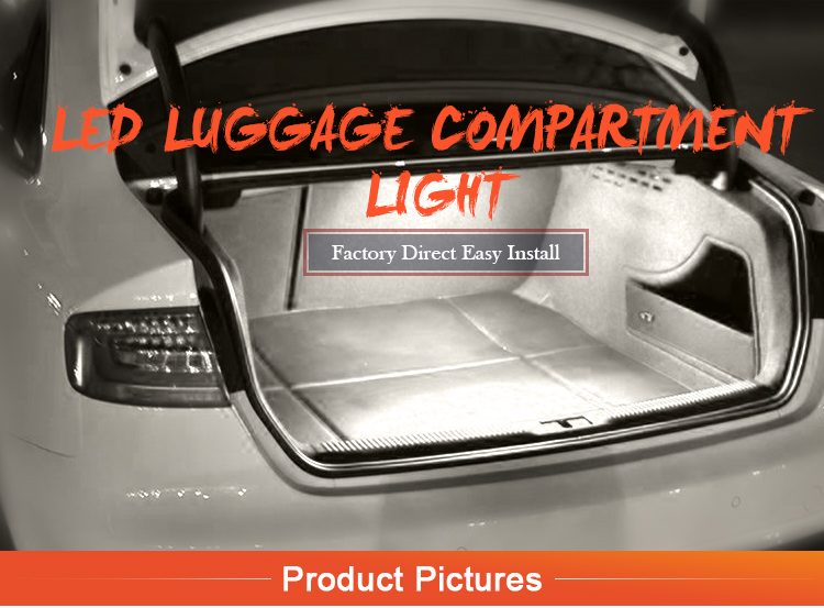 Led Luggage Trunk Boot Glove Box Light Assembly For Vw Bora Error