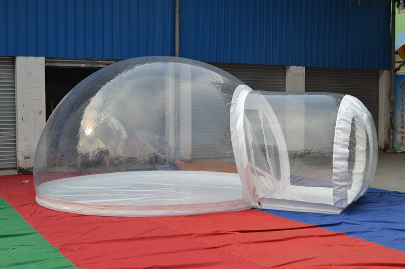 Popular and durable 0.8-1.0mm PVC/TPU c&ing transparent bubble tent inflatable & Popular And Durable 0.8-1.0mm Pvc/tpu Camping Transparent Bubble ...