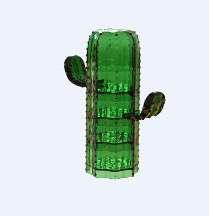 サボテンプラスチックタコホルダー-醤油ボウルパーティーカップ-パーフェクトギフトおかしい台所 5 ピースセットパーティーの装飾