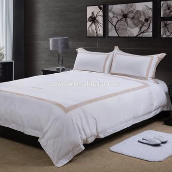 2019 New Arrival White Duvet Cover Sets Hotel Supplies 100 Cotton