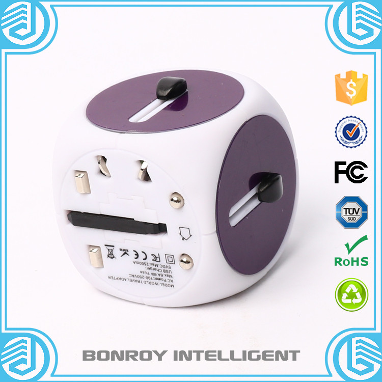 Cube Multi Plug Universal Travel Adapter Adaptor China Power ...