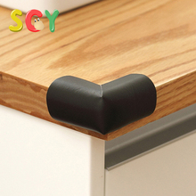 SCY Table Edge Guard & Corner Bumpers for Baby Proofing - Easy to Install, Extra Tape, Extra Long Cushion Corner Protectors