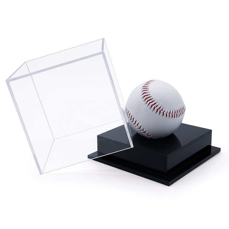 Acrylic  Baseball Stand Display Case Holder