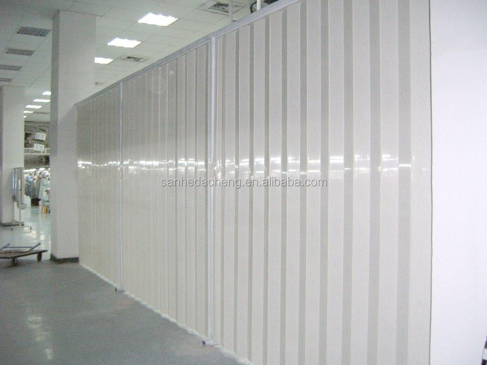 PVC Partition Pvc Accordion Door Folding For Living Room