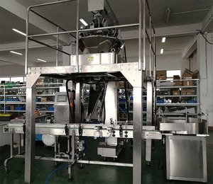 High speed low price automatic plastic cup/jar food filling packing machine line system price