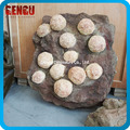 High Simulation Animatronic Dinosaur Egg Fossil
