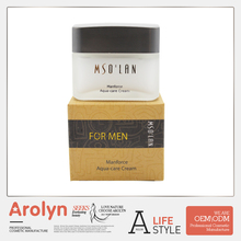 Quality hydrating oil control men shaving cream OEM ODM